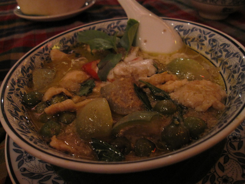 Green Curry at Cabbages and Condoms