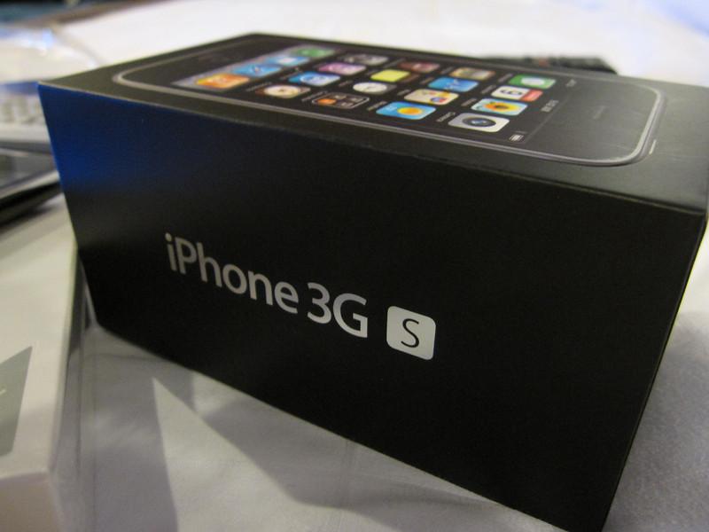 My Apple iPhone 3GS