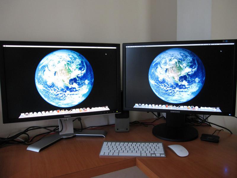 Dual Display with Mac Mini 2009