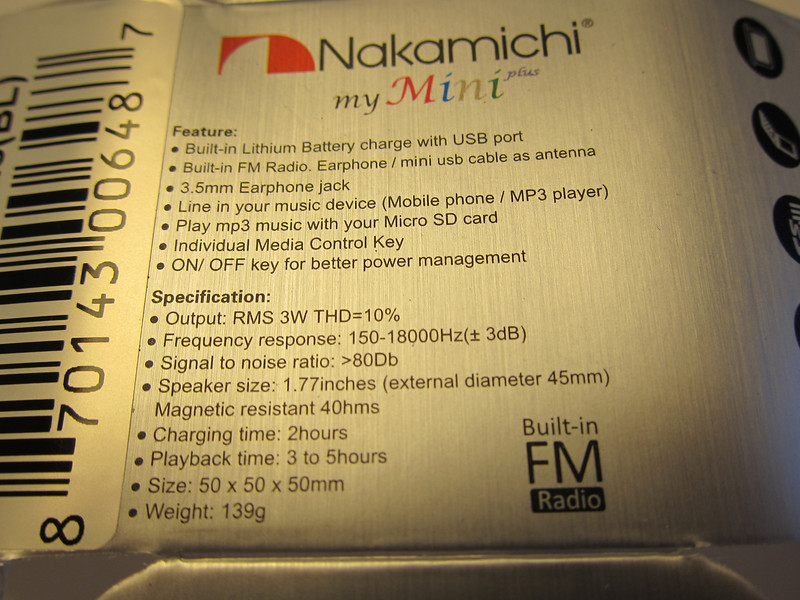 Nakamichi My Mini Plus