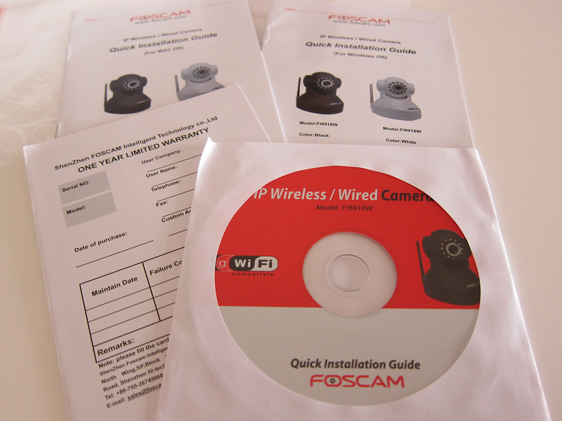 Foscam Wireless Pan/Tilt IP Camera