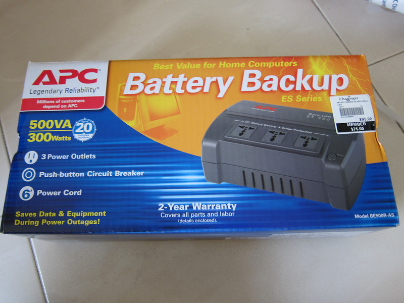 APC BACK-UPS ES 500VA 230V FOR ASE