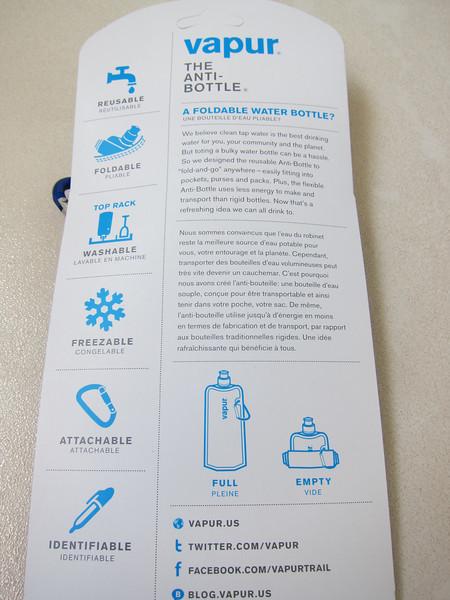 Vapur The Anti Bottle