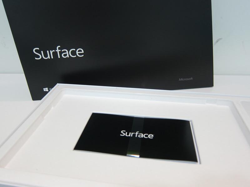 Microsoft Surface RT photos
