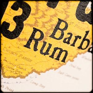 Mount Gay Eclipse Amber Rum label (detail)