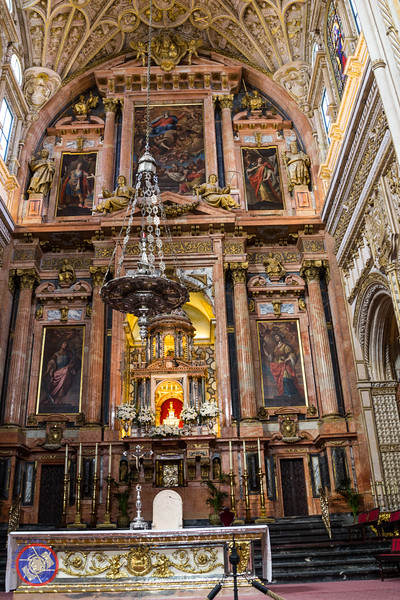The Cathedral in the Center of the Original Grand Mosque in Cordoba (©simon@myeclecticimages.com)