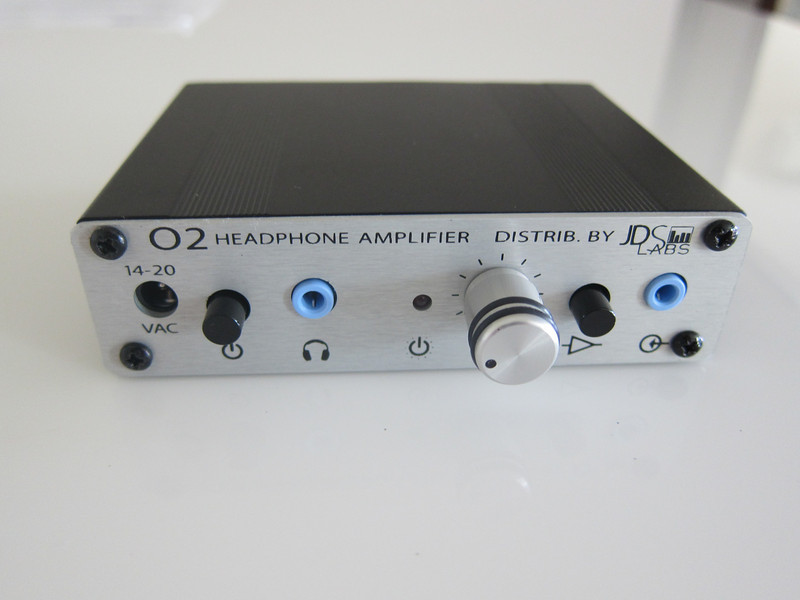JDS O2 Headphone Amplifier