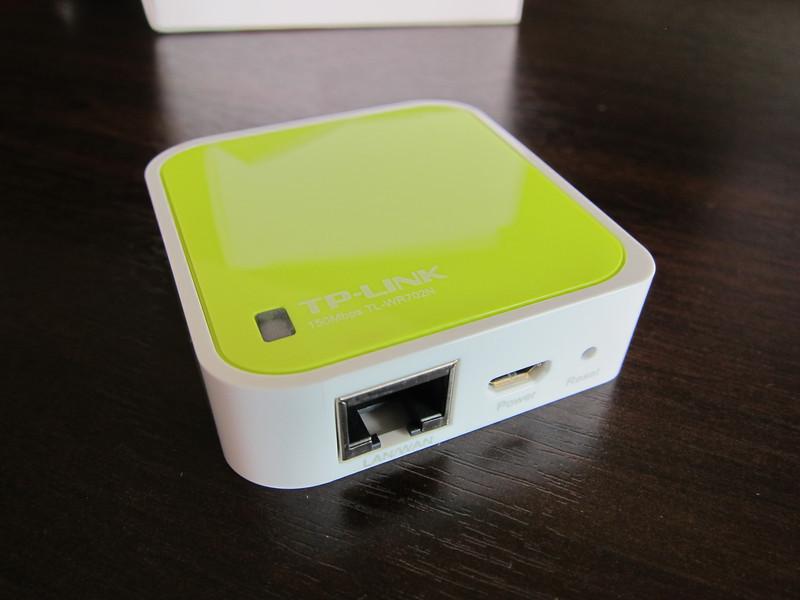 TP-LINK TL-WR702N Mini WiFi Wireless Router