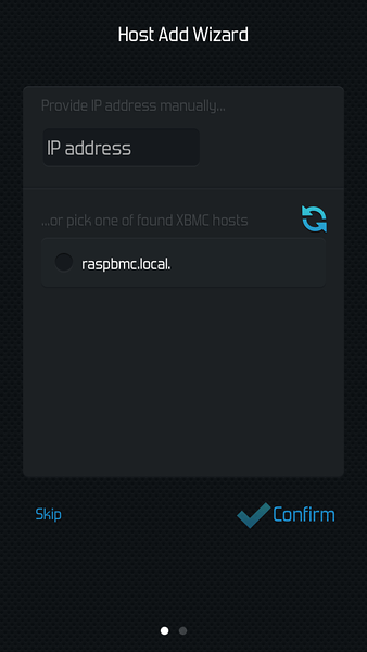 Raspbmc and Constellation App