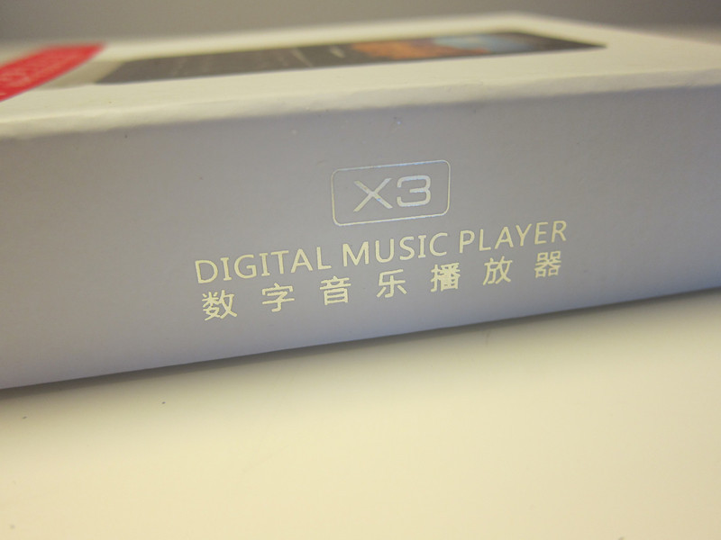 Fiio x3 portable music player
