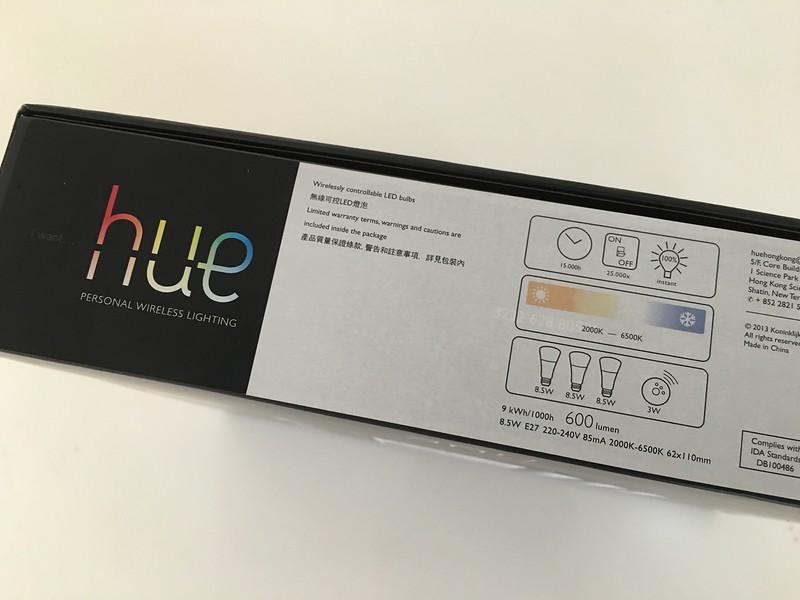 Philips Hue Personal Wireless Lighting Starter Pack