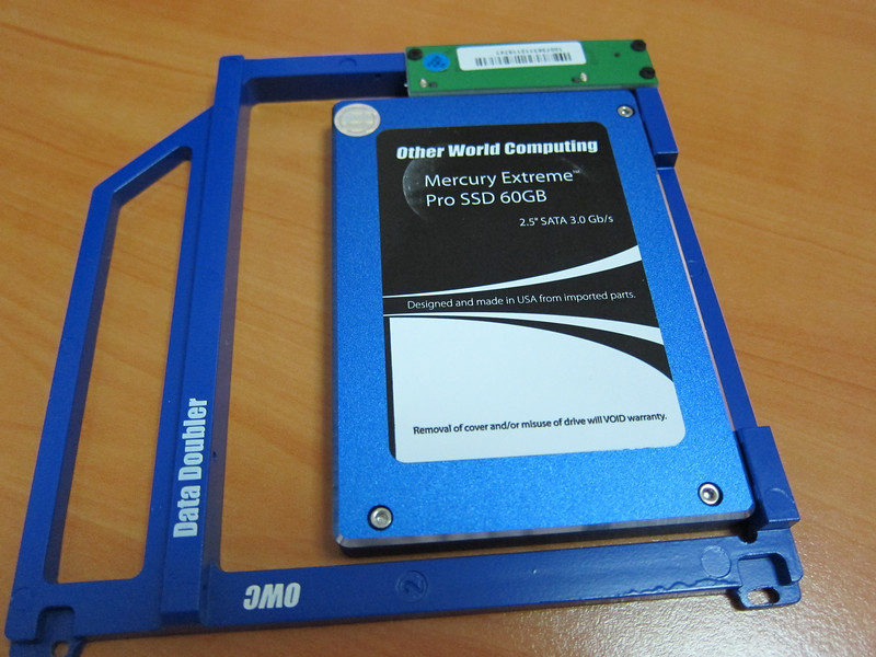 Adding the OWC SSD to MacBook Pro and Steps After
