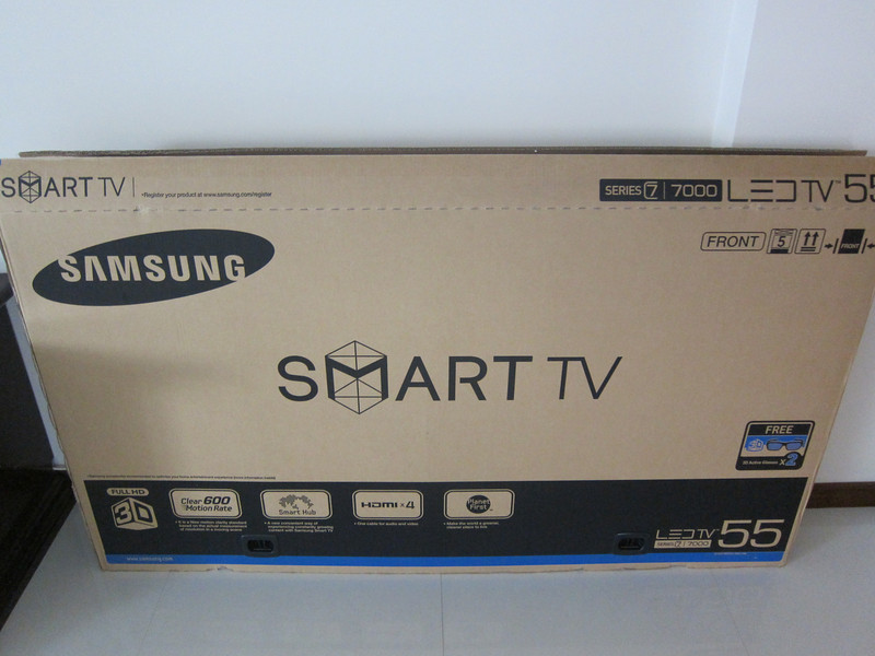 Samsung UA55D7000LN LED TV