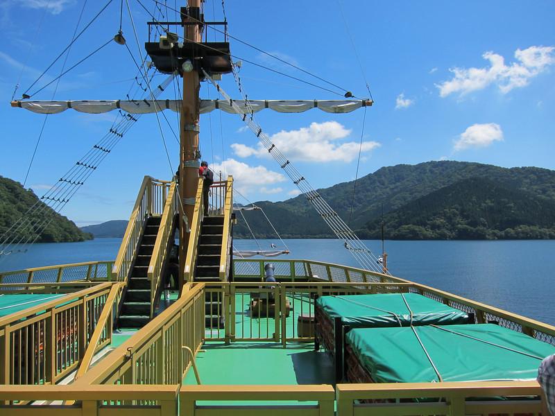 Hakone Free Pass Lake Ashi Boat Ride