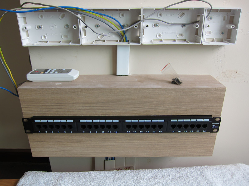 Building the Monoprice Patch Panel Box