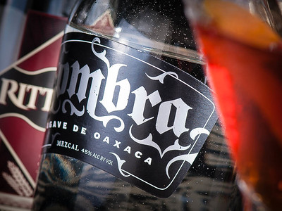 Sombra label (detail), photo ©2014 Douglas M. Ford. All rights reserved.