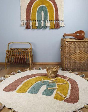 Nattiot tapijt Rainbow – rond