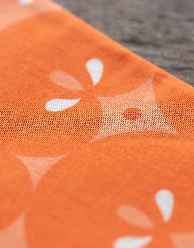 Speelse windzak Koinobori – Mandarine
