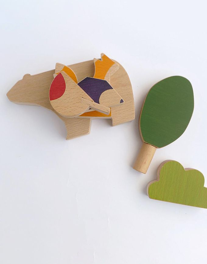 Speelset – woodland animals