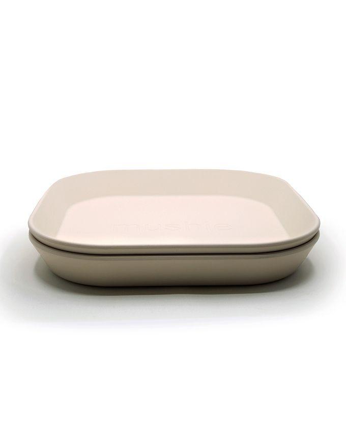 Vierkant bord - Set van 2 - Ivory