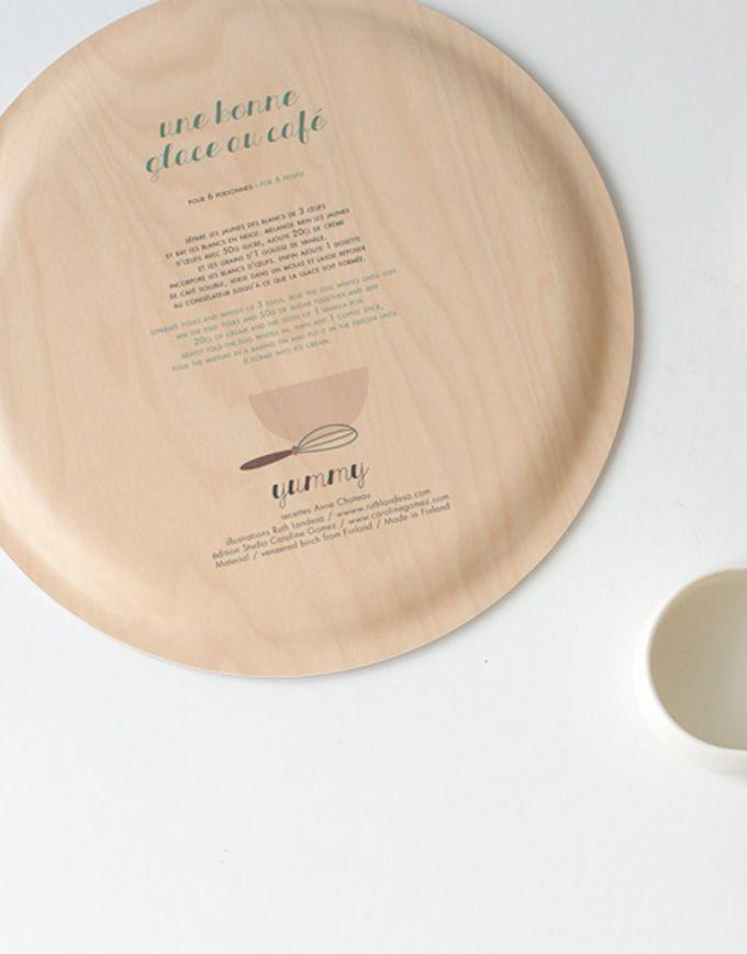 Yummy tray – Coffee icecreal - Back