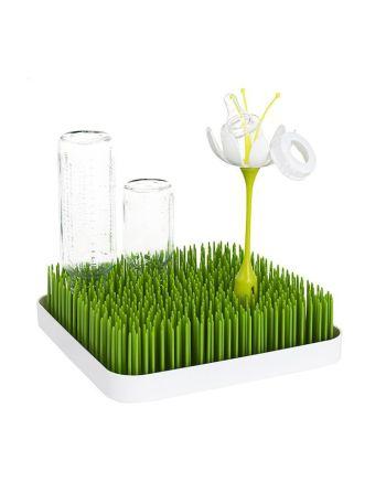 Boon lawn afdruiprekje met bloem (Preloved)