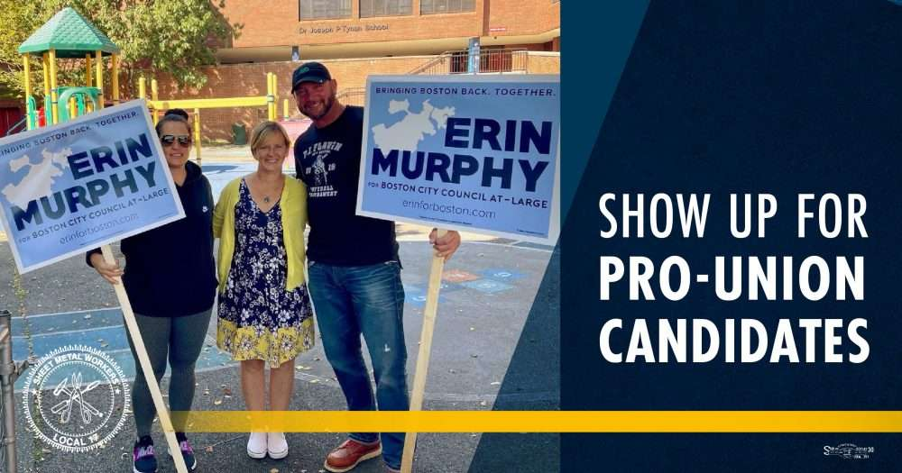 Support Annissa Essaibi George and Other Pro-Union Candidates This Election Season