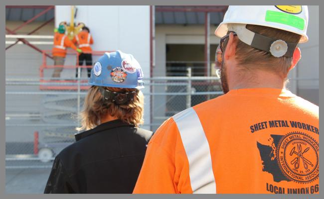 sheet metal workers local union 66 of western washington visit