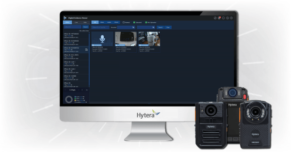 Hytera-Bodycam-Evidence-Management-software