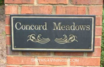 Concord Meadows homes