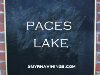 Paces Lake in Vinings