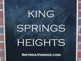 King Springs Heights - Smyrna Georgia Homes