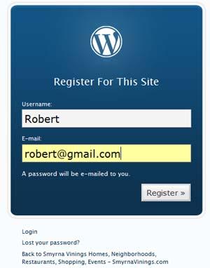 Register to SmyrnaVinings.com