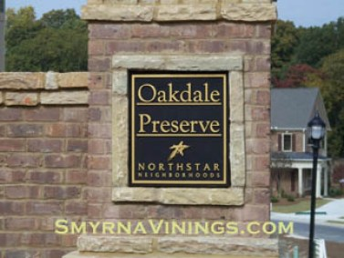 Oakdale Preserve - Smyrna Homes