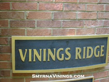 Vinings Ridge townhomes just a stroll from historic Vinings Village