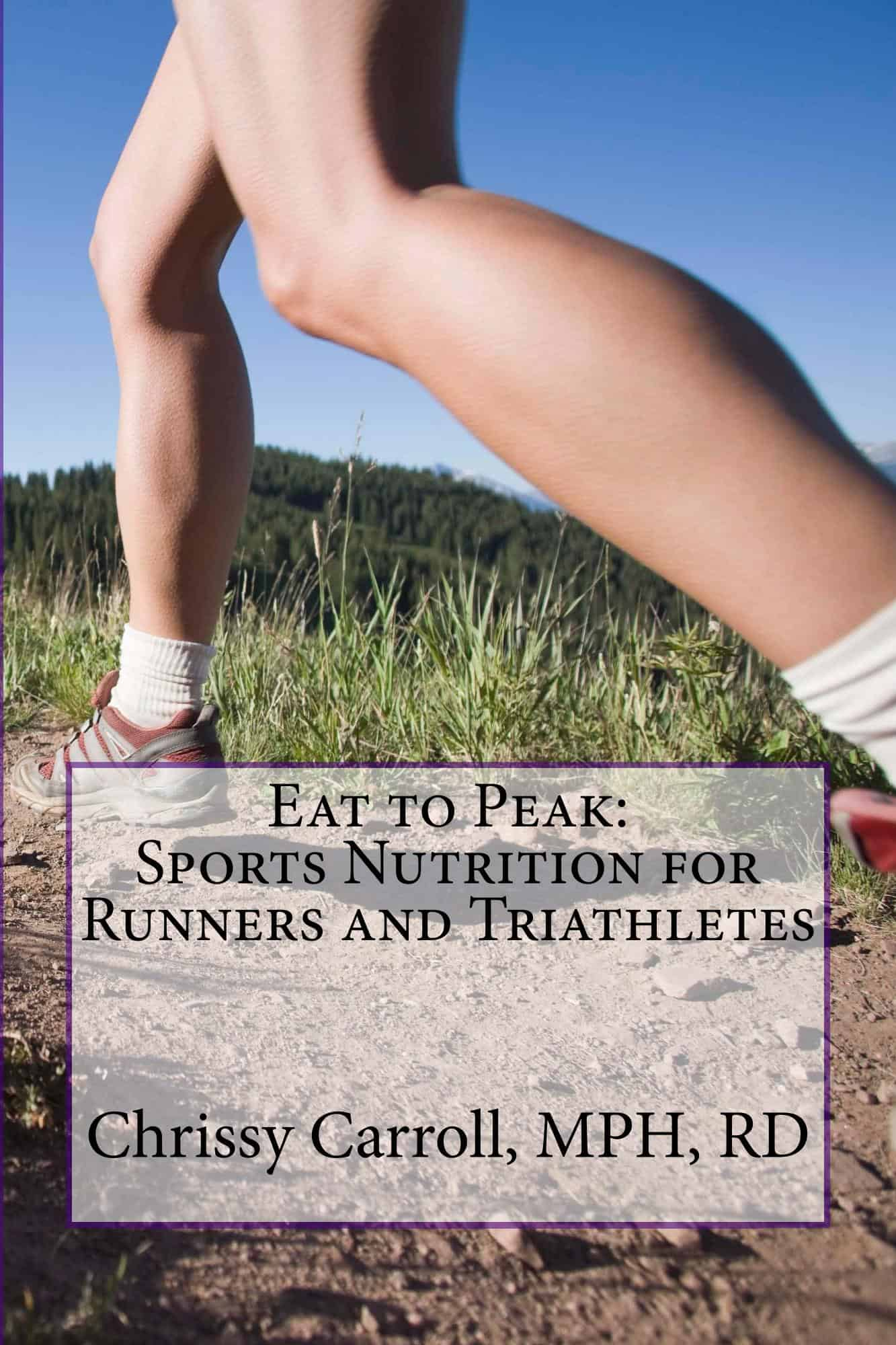 Sports Nutrition Book For Runners And Triathletes