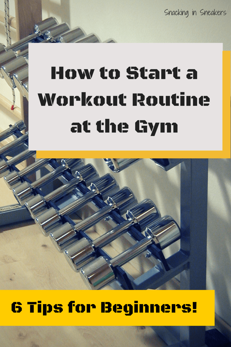 How To Start A Workout Routine At The Gym Fitness Tips