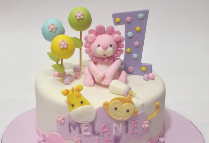 9 Homemade Birthday Cakes For Girls 1 Year Photo 1 Year Old Girl
