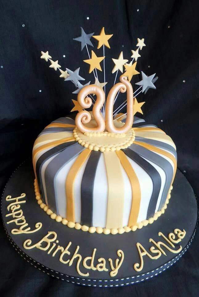 Birthday Cake Ideas For 30 Year Old Man Cakes And Cookies Gallery