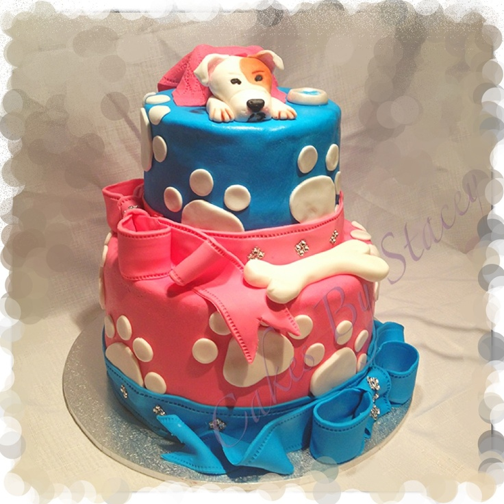 12 Puppy Dog Themed Cakes Photo Birthday Cake