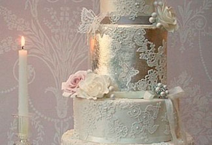 8 Unique Vintage Lace Wedding Cakes Photo Beautiful Lace Wedding