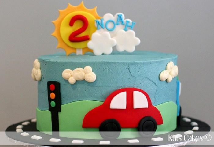 10 Cars 1st Birthday Cakes For Baby Boy Photo Boys First Birthday