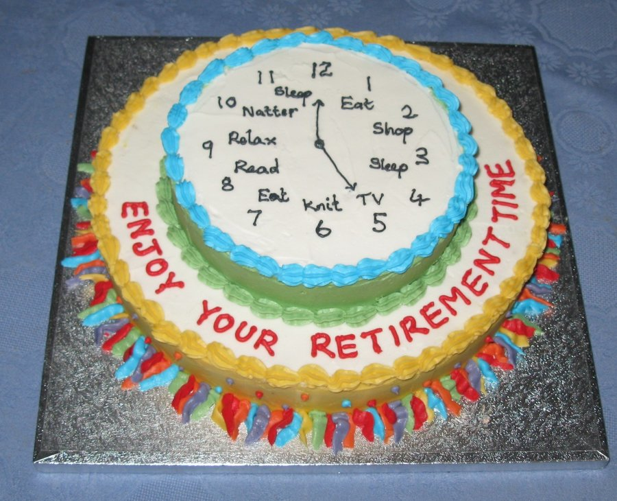 9 Kroger Retirement Cakes Designs Photo Office