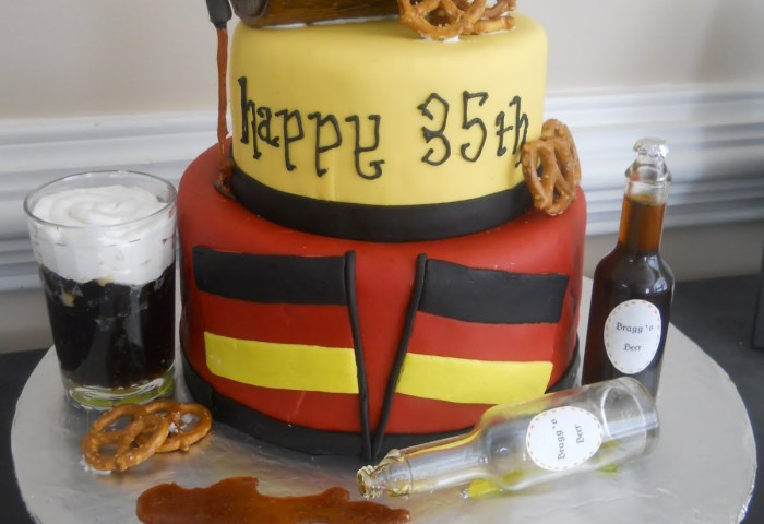 13 For Dad Beer Birthday Cake Themed Cakes Photo Mug Birthday Cake