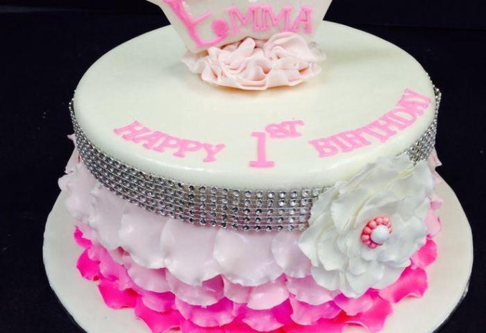 9 Girls 1st Birthday Princess Cakes Photo Princess First Birthday