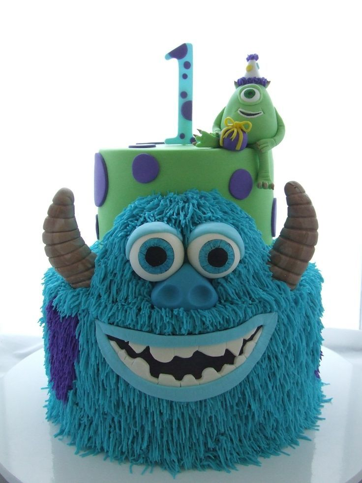 12 Monster Incorporated Birthday Cakes Photo Monsters Inc Birthday Cake Monsters Inc 1st Birthday Cake And Monsters Inc Birthday Cake Snackncake