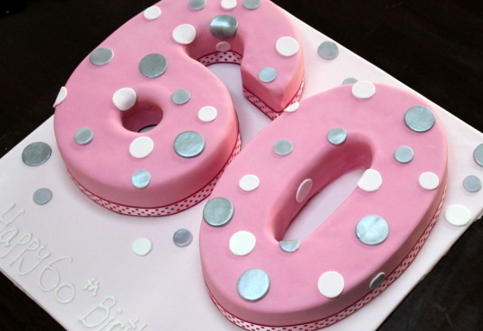 8 Number Birthday Cakes Adults Photo Birthday Cake Topper