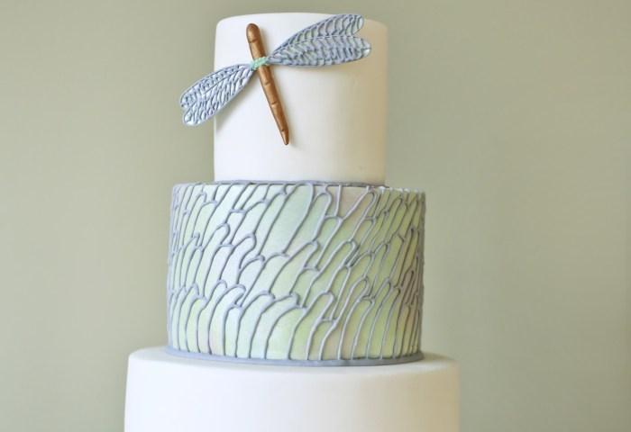 9 Contemporary Wedding Cakes Photo Modern Wedding Cake