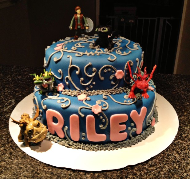 How train your dragon birthday cake884497gresize618580ssl1 9 dragon girl birthday cakes photo how to train your cake ccuart Images