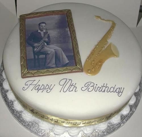 90th Birthday Cakes Men